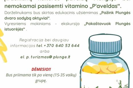 Vitaminas P'aveldas vaikams