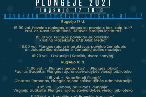 Europos paveldo dienos Plungėje