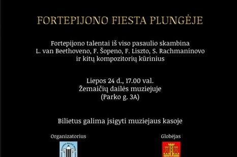 Fortepijono fiesta Plungėje