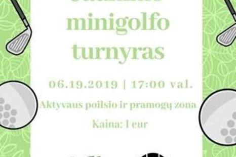 Jaunimo Minigolfo turnyras