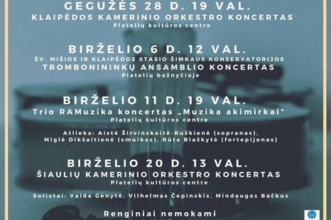 VIII Platelių kamerinės muzikos festivalis