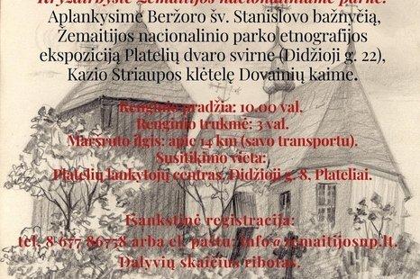 PASAULINĖ TURIZMO DIENA ŽEMAITIJOS NACIONALINIAME PARKE