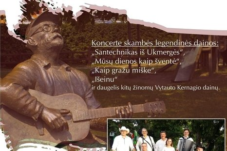 "Gyvo garso grupės ""Maestro"" koncertas"